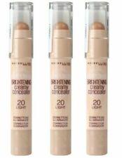 3x Maybelline 3g Brightening Creamy Concealer 20 Light Postage
