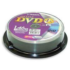 10-PK Ridata 4X Mini DVD-R DVDR Blank Disc Media 8CM 1.46GB 30Min (Logo in Top)