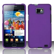 For Straight Talk Samsung Galaxy S II 2 S959G HARD Case Phone Cover Dark Purple