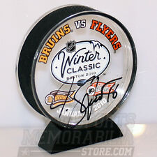 Marco Sturm Bruins signed acrylic winter classic puck