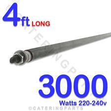 HE4830 4ft 3000 watt 3 Kilowatt 8MM DRY / WET ROD TYPE HEATING ELEMENTS 220-240V