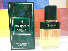 VINTAGE VETIVER EDC BY GUERLAIN circa 1987 OLD FORMULA 1.0 oz / 30 ML NEW IN BOX