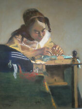 Pastel drawing of a girl by R.Harrison