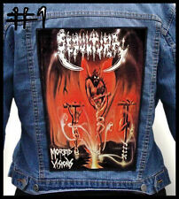 SEPULTURA   --- Huge Jacket Back Patch Backpatch --- Various Designs