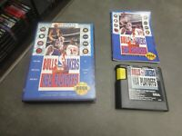 Bulls vs. Lakers and the NBA Playoffs (Sega Genesis, 1991)  Complete in Box -CIB