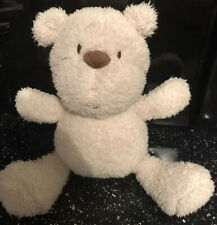 "Boots Mini Club Cream Teddy Bear Plush Soft Hug Toy Height 11"""