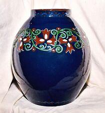 Grand vase, Karlsruhe faïence, Alfred Kusche
