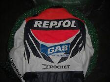 Repsol Honda Gas jeans Joe Rocket leather jacket 42 CBR1000RR CBR600RR Hayden 69