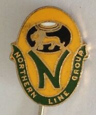 Northern Line Group Bowling Club Pin Badge Rare Vintage (L5)