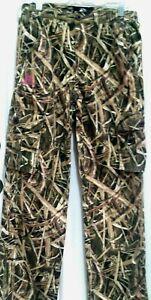 Mossy Oak Shadow Grass Blades Camo Womens Pants - New w/o Tag - Size Small