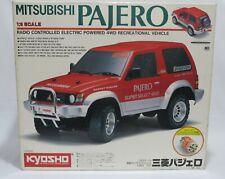 R/C Vintage Kyosho 1/9 Mitsubishi Pajero Electric NO.4272 Kit (Painted Body)