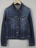 RRP $249 NUDIE JEANS PERRY ORG. EXCELLENT BLUE Men X LARGE Denim Jacket 1808*mm