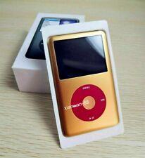 NEW Apple iPod Classic 7th Gen U2 Gold/Red 512GB SSD+2000mAh Battery Warranty
