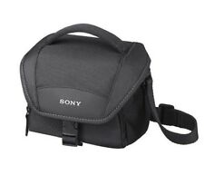 SONY LCS-U11 BLACK Carrying Case for Camcorders Alpha NEX Cameras LCSU11 DSLR
