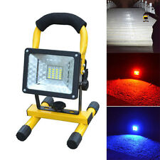 Outdoor 30W 24 LED Flood Light Portable Waterproof Emergency Spotlight Lamp IP65
