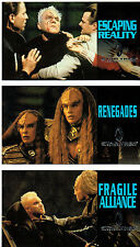 STAR TREK GENERATIONS SET OF 3 FOIL CARDS