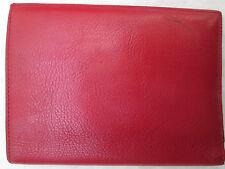 -AUTHENTIQUE portefeuille-porte-monnaie FLORENT PAGLIANO cuir TBEG vintage 70's