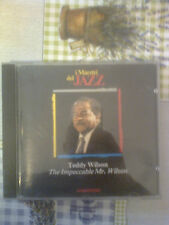 I MAESTRI DEL JAZZ - TEDDY WILSON  - (ED. DE AGOSTINI)  CD