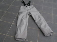 Pantalon ski mixte Gris à bretelles QUECHUA taille 46 ( L ou XL ) très bon état