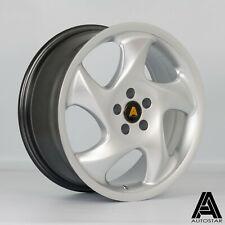"4 x Autostar Twist 17"" 5x100 et35 alloys fit VW Golf Mk4 Mk3 GTI Polo 2001 on 5"