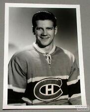 Original Mid-50's Phil Goyette Mtl Canadiens Photo