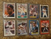 (8) Albert Belle 1989 1990 Leaf Upper Fleer Score Donruss rookie card lot RC