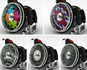 Wheelchair Spoke Guards Wheelchair Cover Protector Personalised Custom Design