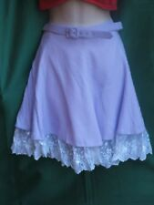 NEW in pkg  VINTAGE FREDERICK'S OF HOLLYWOOD lilac skirt -made in USA  SZ 7
