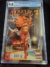 Angela Asgard's Assassin #1 CGC 9.8 1ST Appearance of Sera & Laussa Key(item 364