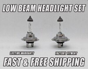 Stock Fit Halogen FRONT LOW BEAM Headlight Bulb For Jaguar S-Type 2000-2008 x2