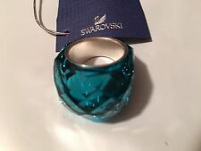 NIB Swarovski Large Nirvana Ring Indicolite Blue Size 52/US 6/S #1166793