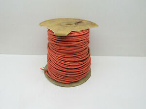 (325ft) 12AWG Stranded Orange THHN THWN MTW Copper Wire 600V #12 - 8lbs