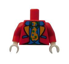Lego Torso Oberkörper in rot Clown Serie 5 Sammelfigur Zubehör 973pb0939c01 Neu