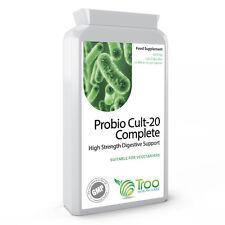 Probiotics Complete 20 Billion CFU 120 Capsules with Acidophilus, Streptococcus