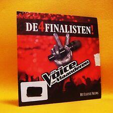 PROMO Cardsleeve single CD De 4 Finalisten The Voice Van Vlaanderen 4TR 2012 Pop