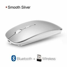 Silent Wireless Mouse Rechargeable Ergonomic Bluetooth Mouse Optical PC Mause