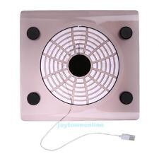 USB Cooling Big Fan LED Light Cooler Pad for 15'' or below laptop PC Notebook
