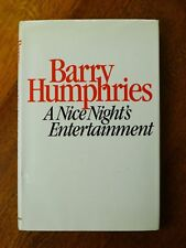 Nice Night's Entertainment: Sketches and Monologues, 1956-81 by Barry Humphries