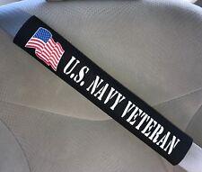 US Navy Military Veteran Car Truck Seat Belt Cover Gift Idea