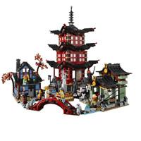 Ninja Temple Of Airjitzu Ninjagoes Version Building Blocks