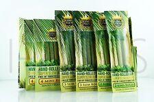 18x King Palm Rolls 100% Tobacco Fee Natural Leaf Rolls With Corn Husk Filter