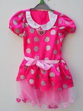 Pretty DISNEY MINNIE MOUSE Girls Fantasy Play Costume Fancy Dress age 4-6 years