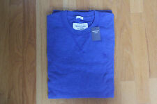 NWT Abercrombie & Fitch Boreas Mountain Thermal Crew Tee Blue Large
