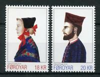 Faroes Faroe Islands 2018 MNH Natl Costumes III 2v Set Traditional Dress Stamps