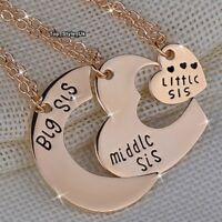BLACK FRIDAY DEALS Sisters Necklace Best Friends Forever Gold & Keyrings Set K6