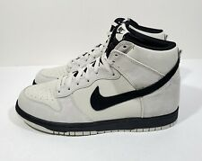 Nike Dunk High Mens Shoes Light Bone Black Size 10