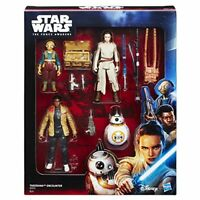 Star Wars Force Awakens Takodana Encounter 4 Action Figure Playset, Rey Finn Maz