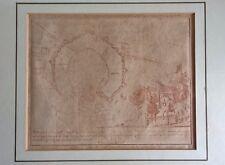 Antica eccezionale incisione del 1700,XVIII secolo,ritraente Milano Peter Schenk