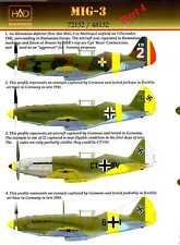 Hungarian Aero Decals 1/48 MIKOYAN MiG-3 Fighter German & Romanian Service