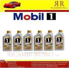 MOBIL 1 NEW LIFE 0W-40 0W40 6 LT LITRI SINTETICO AUTO MOBIL OLIO PORSCHE BMW VW